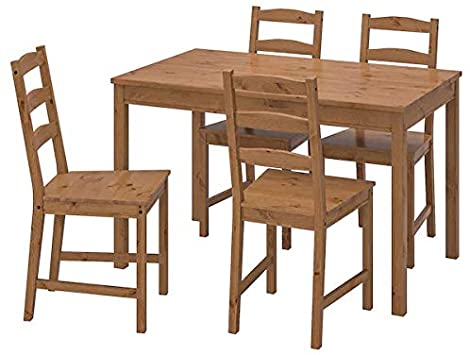 Amazon.com - Ikea JOKKMOKK table, Brown - Table & Chair Se