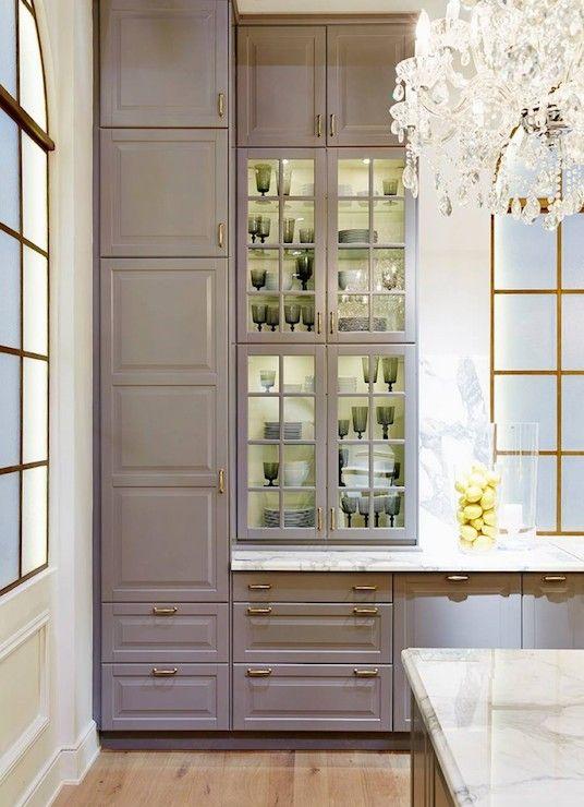 Ikea Kitchen - Contemporary - kitchen - Ikea | Grey ikea kitchen .
