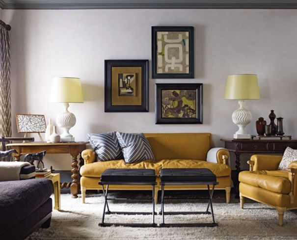 Decorating with…Yellow! | Centsational Style | Home decor, Yellow .