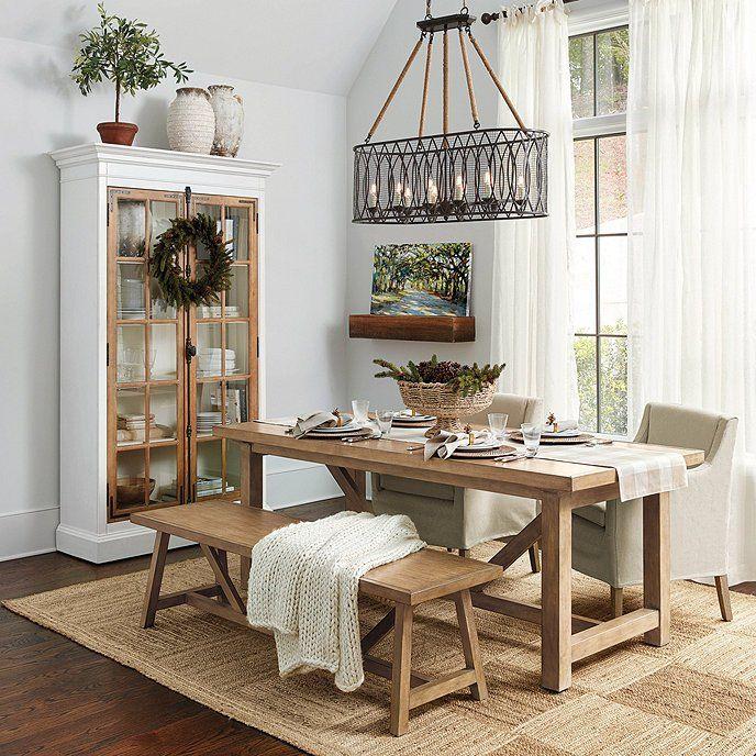 Squares Jute Rug | Dining room rug, Dining room design, Dining .