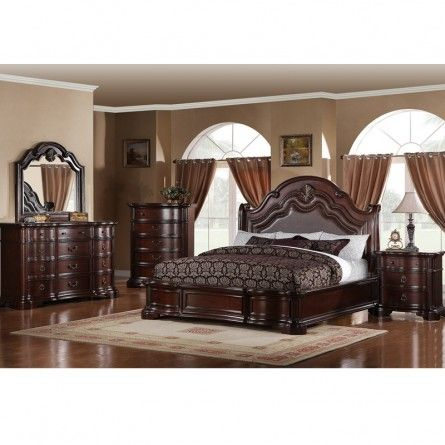 DICKSON CARSON KING BEDROOM SET | Fancy bedroom, Beautiful bedroom .