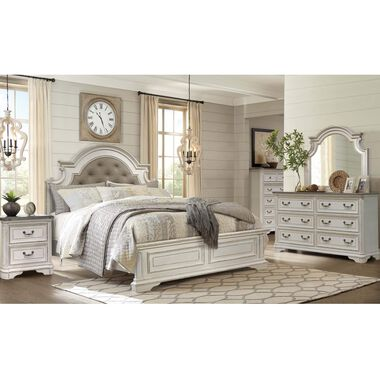 Rent to Own Riversedge Furniture 7-Piece Madison King Bedroom Set .