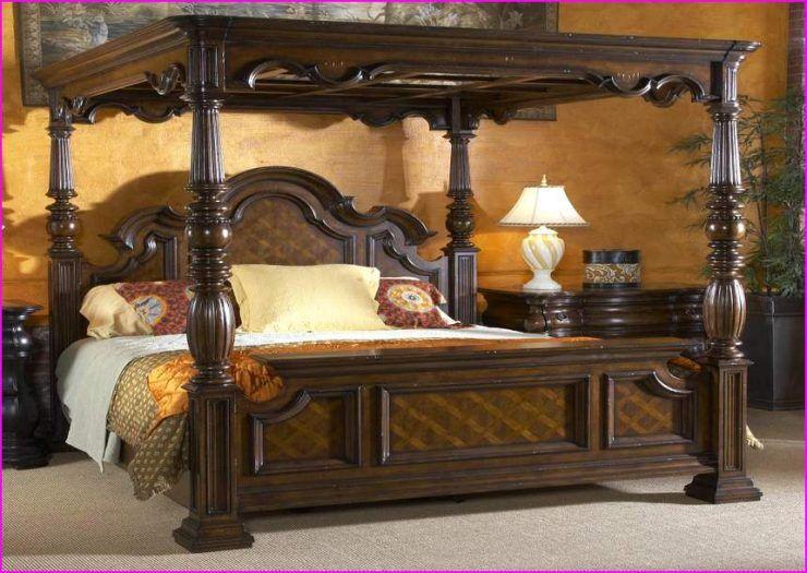 King Canopy Bedroom Set Ideas