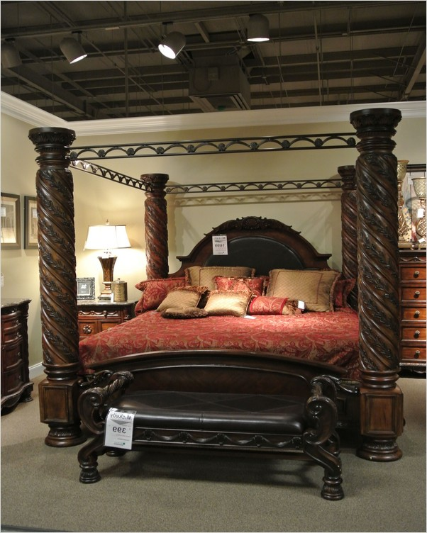 √√ King Size Canopy BEDROOM Sets | Home Interior Exterior Decor .