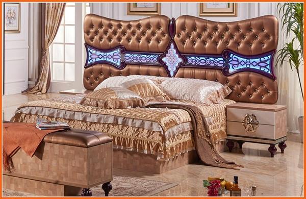 Bedroom Furniture Set, King Size Bed, Dresser, Nightstand, Wardro