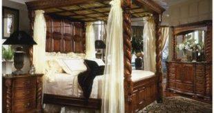 King Size 4 Poster Bedroom Set | King bedroom sets, Canopy bedroom .