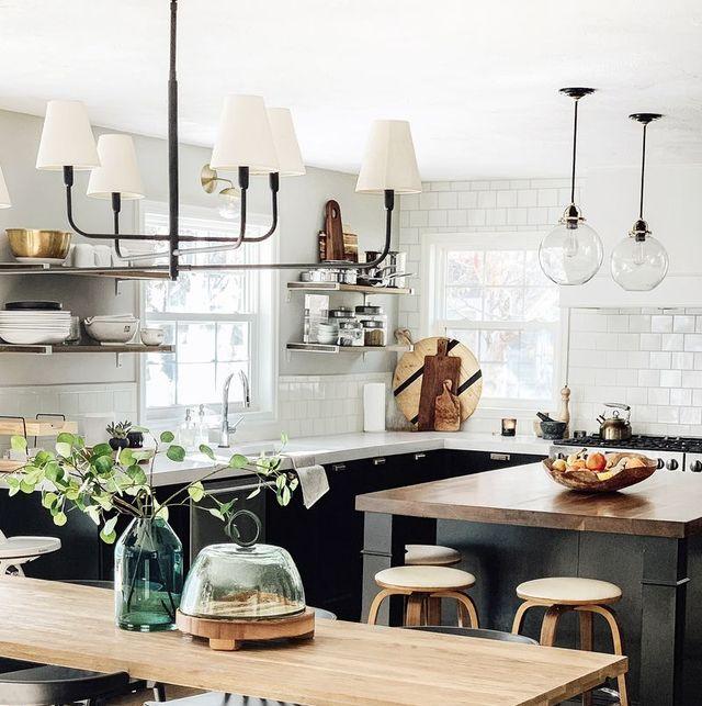 11 Black Kitchen Cabinet Ideas for 2020 - Black Kitchen Inspirati