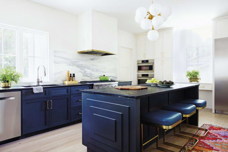 The Best 12 Blue Paint Colors For Kitchen Cabinets | Kitchen .