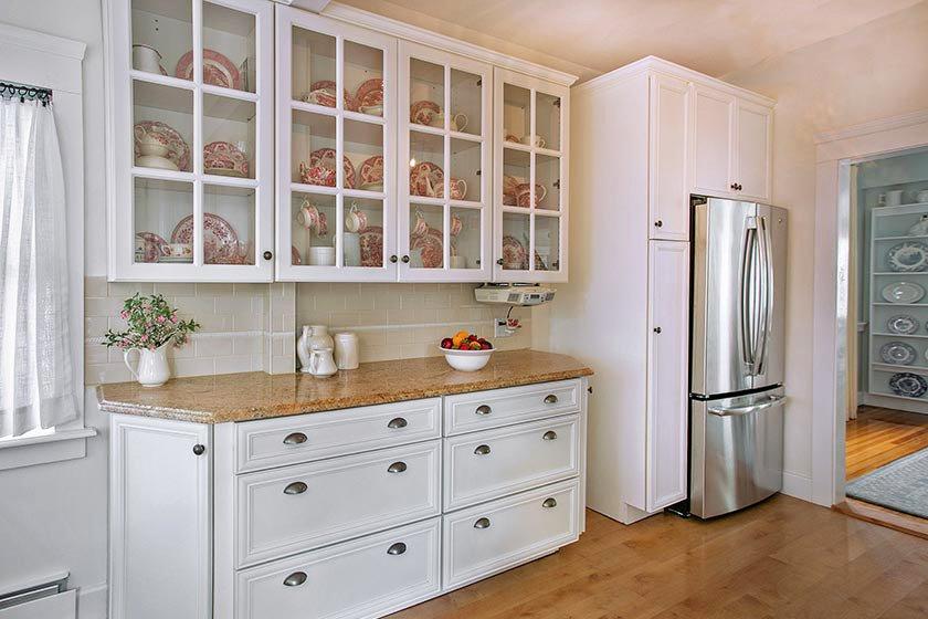 Glass Kitchen Cabinet Doo