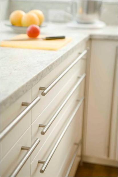 Modern stainless steel Cabinet hardware | Kitchen cabinet door .