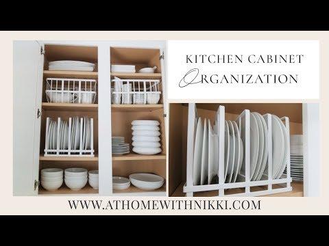 KITCHEN CABINET ORGANIZATION   Organize With Me - YouTu