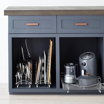 Kitchen Storage, Kitchen Organization Ideas & Pantry Organizers .