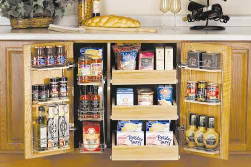 Kitchen Cabinet Organizers - Organizing Solutions in HomeCrest .