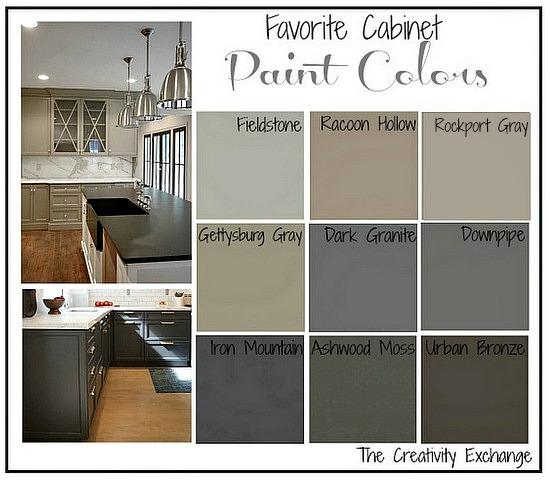 Favorite Kitchen Cabinet Paint Colo