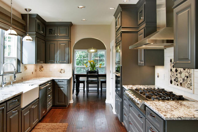 Painted-Kitchen-Cabinets-Remodeling-Ideas | Décor A