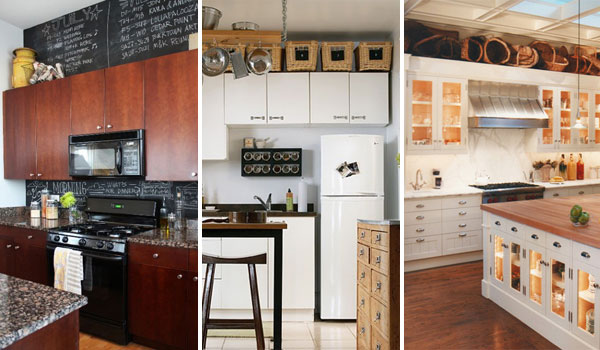 20 Stylish and Budget-friendly Ways to Decorate Above Kitchen .