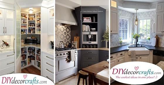 Corner Kitchen Cabinet Ideas - Corner Kitchen Uni