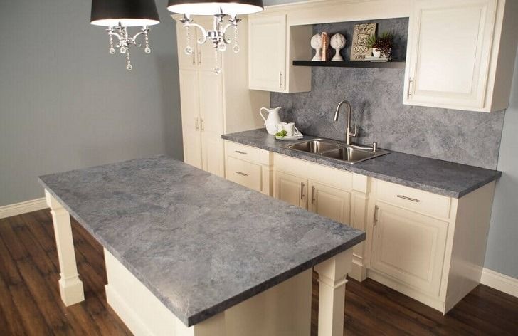 Countertop paint ideas – give a new look to the dated work surfa