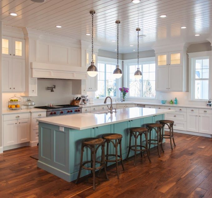 Craig Veenker | Kitchen island cabinets, Home kitchens, Kitchen .