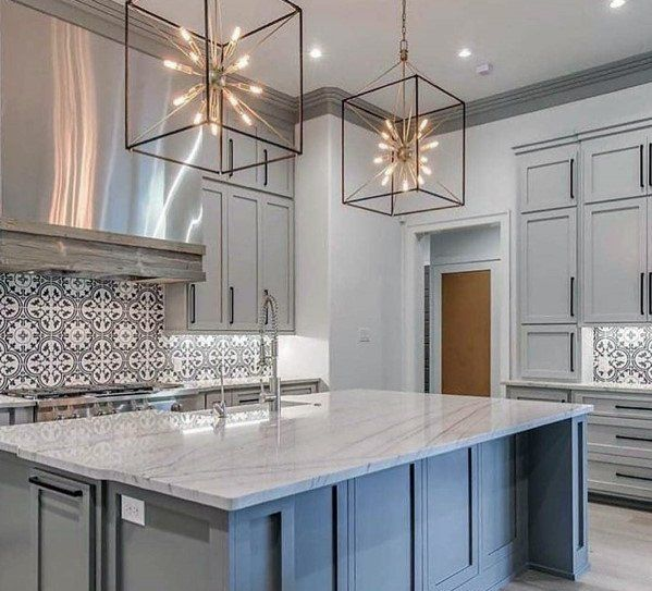 Awesome Kitchen Island Lighting Ideas Star Square Large Pendants .