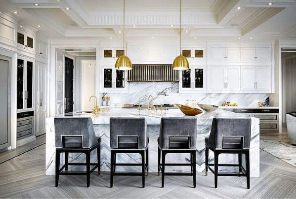 Top 50 Best Kitchen Island Lighting Ideas - Interior Light Fixtur