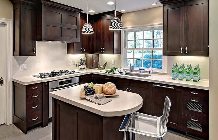 Simple Kitchens Small Space Kitchen Design Ideas Portable Islands .