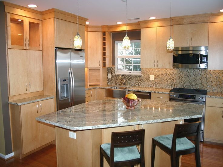 3 incredible kitchen designs with island for spacious kitchens .