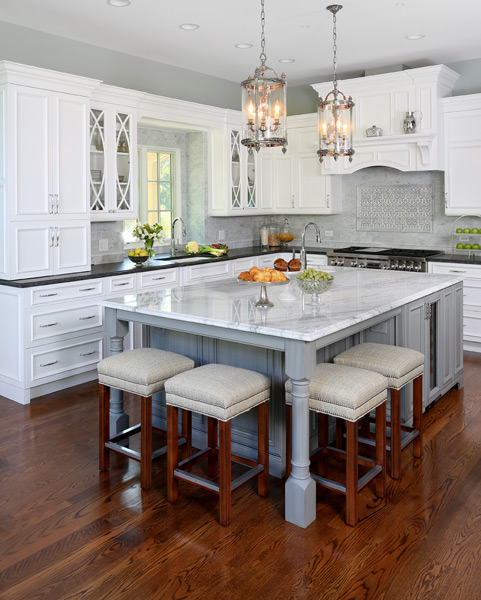 Incorporating Seating into a Kitchen Island : Normandy Remodeli