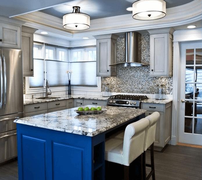 Flush Mount Fluorescent Kitchen Lighting Design Ide