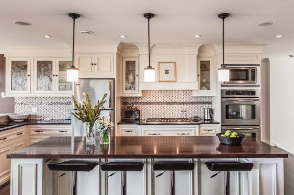 55 Beautiful Hanging Pendant Lights For Your Kitchen Island .