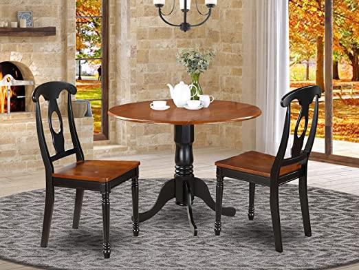 Amazon.com - 3 Pc small Kitchen Table set- small Table and 2 .