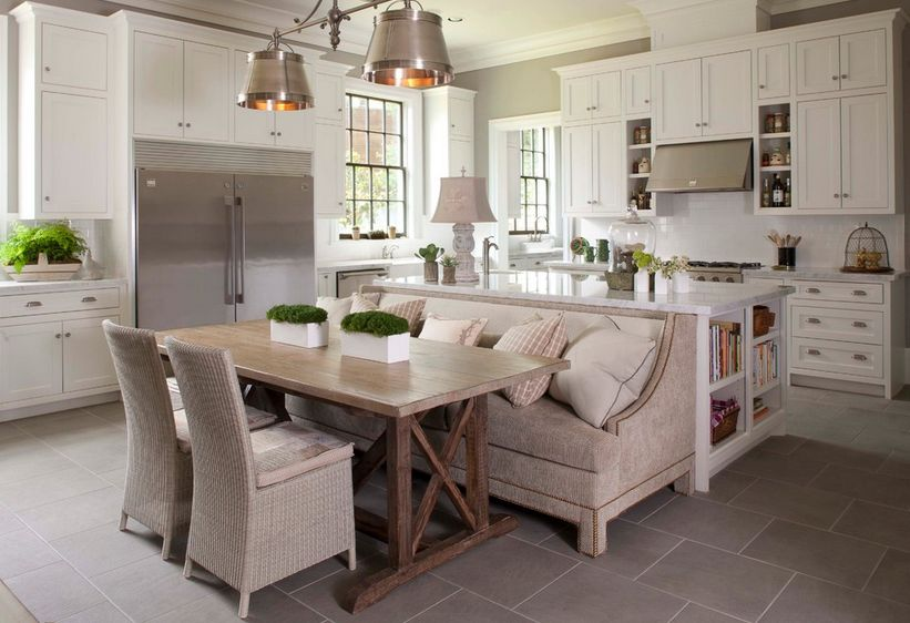 How A Kitchen Table With Bench Seating Can Totally Complete Your Ho
