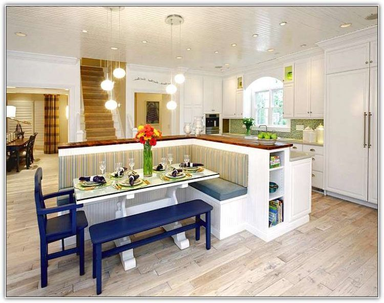 20 Beautiful Kitchen Islands With Seating | Kitchen island with .