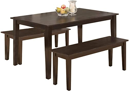 Amazon.com - Dining Table Set Dining Table Kitchen Table and Bench .