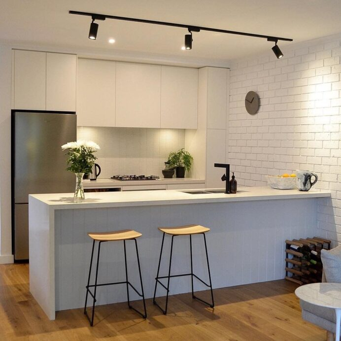 To Choose The Proper Lighting For Kitchen Track Beautiful Units .