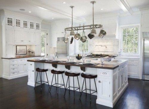White Kitchen Island With Seating harmonious theme white kitchen .