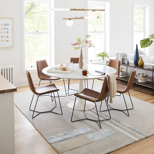 Slope Leather Dining Cha