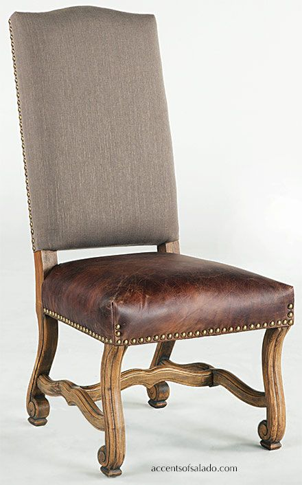 Gatlin Long Rustic Dining Table | Dining room chairs upholstered .