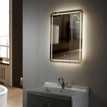 LED Bath mirrors, buy Frameless LED Lighted Hotel Luxury Bathroom .
