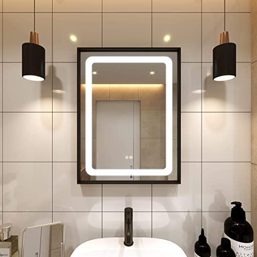 Amazon.com: Petus PetusHouse 20 X 28 Inch LED Lighted Bathroom .