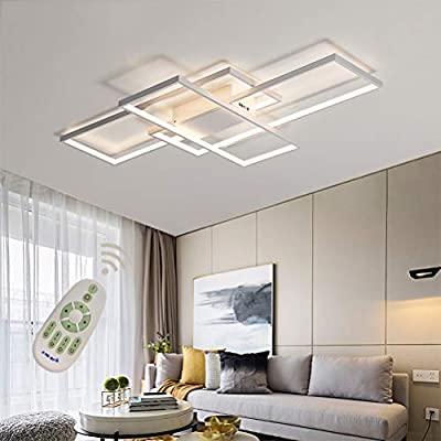 LED Modern Ceiling Light Flush Mount Square Fixture Living Room .
