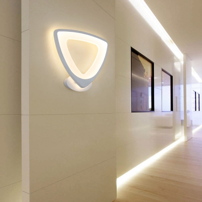 Nordic-Style Wall Mounted Lights for Bedroom Living Room Led Warm .