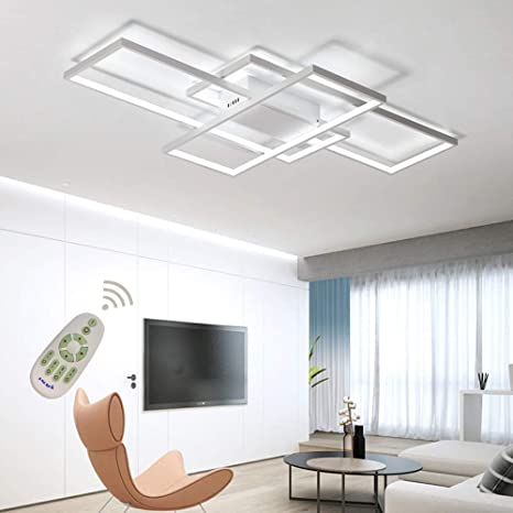 LED Ceiling Light Dimmable Living Room Kitchen Island Table Light .