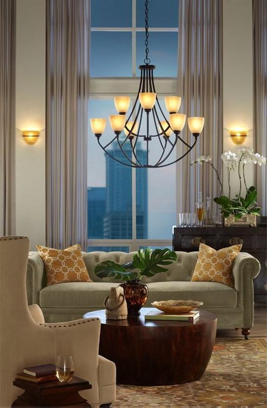 Beautiful Living Room Ceiling Lights, Living Room Lighting Ideas .