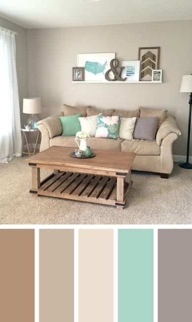 Cool color ideas for my living room #livingroomcolorschemes .