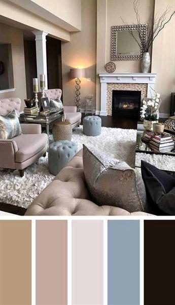 Cozy Living Room Paint Colors | Living room color schemes, Paint .