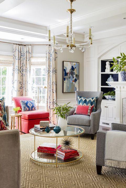 20 Best Living Room Curtain Ideas - Living Room Window Treatmen