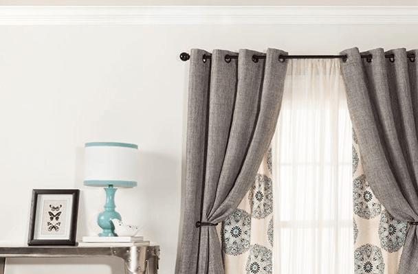 6 Inspiring Living Room Curtain Ideas - Curtains Up Blog | Kwik-Ha