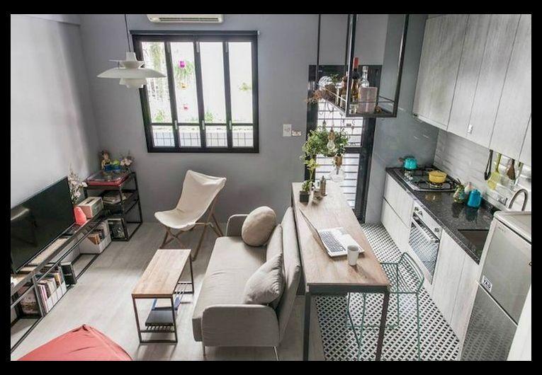 32+ Stunning Apartment Studio Space Saving Organization & Decor .