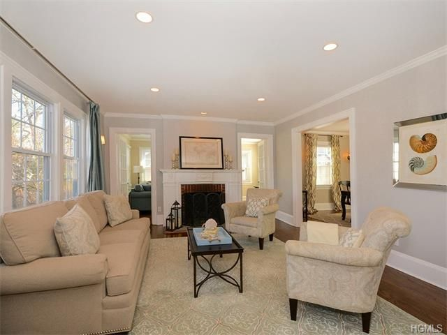 12 Bronson Avenue Larchmont, NY 10538 | Recessed lighting living .